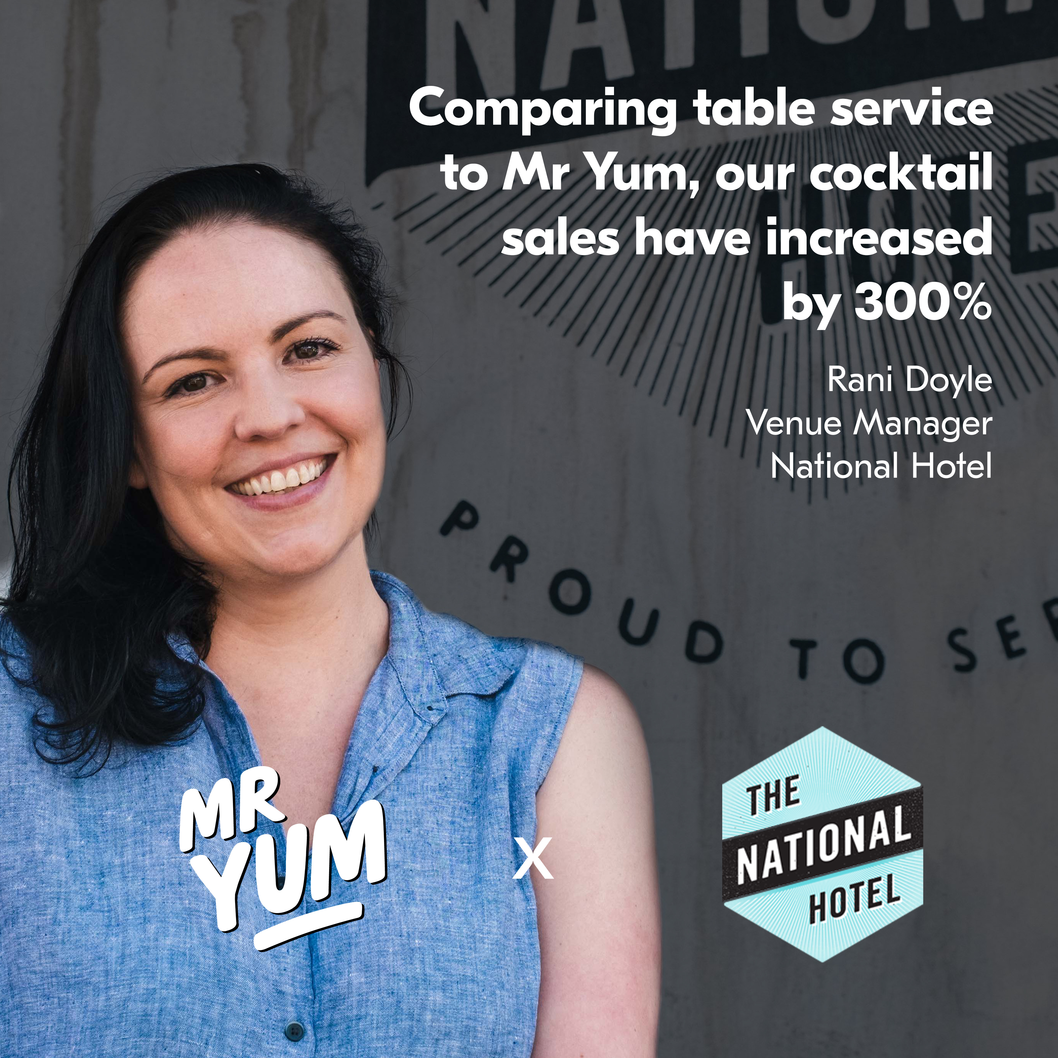 The National quote square (VIC)